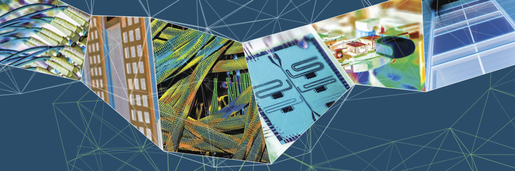 Banner collage of LBNL research areas
